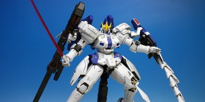 P-Bandai MG 1/100 TALLGEESE III: Painted Build. Photoreview No.18 Hi Res Images