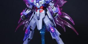 HGBF 1/144 DENIAL GUNDAM Painted Build: Full Photo Review Hi Resolution Images