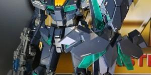 P-Bandai MG Unicorn Gundam 02 Banshee Norn (Green) @ Gunpla EXPO World Tour Japan 2014: Photoreport Hi Res Images