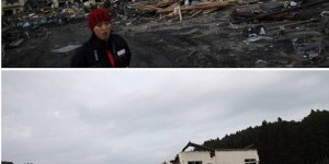 Japanese Tsunami Five months later: Before & After. Large Images about the GREAT Clean-up of the JAPANESE PEOPLE