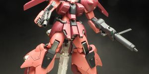 [WORK REVIEW] P-Bandai HGUC 1/144 ZAKU III CUSTOM (Twilight AXIS Ver.)