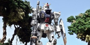 DIORAMA: MG RX-79[G] Gundam. Work by kjmvhzl. FULL PHOTOREVIEW No.26 Hi Res Images