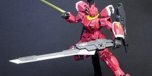 [PAINTED BUILD] MG 1/100 Gundam Amazing Red Warrior: Photo Review No.24 Big Size Images