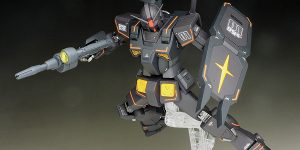REVIEW P-Bandai HG FA-78-2 HEAVY GUNDAM (The ORIGIN MSD Series) painted build images