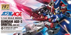 HG 1/144 Gundam AGE-3 Orbital: Box Art (Wallpaper Size Image) & New Big Size Official Images. 6 August Release