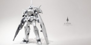 A cheap Gunpla, a Pencil, some paint, a bit of customization: AG 1/144 G-EXES by fizen. Photo Review