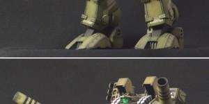 1/72 Destroid Tomahawk (Macross plamo Wave) Assembled, Painted. Big Size Images