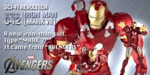 Revoltech Sci-Fi Series No.042 Iron Man Mark VII [The Avenger 2012]: Official Photoreview No.13 Big Size Images, Info