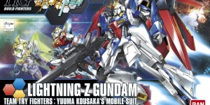 HGBF 1/144 LIGHTNING Z GUNDAM: UPDATE Many Big Size Official Images, Info Release