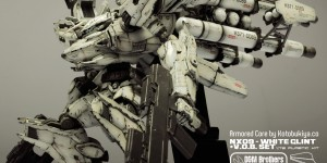 [Armored Core] Kotobukiya 1/72 NX09 White Glint + V.O.B. Set: Work by D&M Brothers Model Studio. Mega Full Photoreview [Closeups too] No.99 Wallpaper Size Images!!!