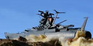 1/1000 Diorama: (Plamo Bandai) Space Battleship Yamato 2199 (w/LEDs) Photoreview Big Size Images
