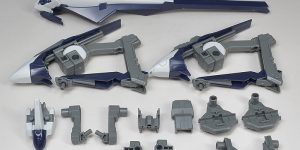 """HOW TO INSTALL"" REVIEW: No.120 explanatory images. P-Bandai HGUC HRUDUDU II EXPANSION SET(ADVANCE of Z The Flag of TITANS)"