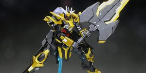 [WORK REVIEW] HGBF 1/144 GUNDAM SCHWARZRITTER Masked Second G[Generation]'s Mobile Suit