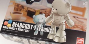 HGBF 1/144 Beargguy F [Family] Box Open: Runners Photoreview, Info