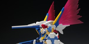 P-Bandai HGUC 1/144 Expansion Effect Unit WINGS OF LIGHT for Victory Two Gundam: New Full PHOTO REVIEW No.18 Big Size Images