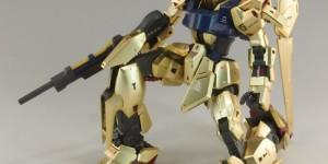 MG 1/100 HYAKU-SHIKI Ver.2.0 assembled: Photo Review