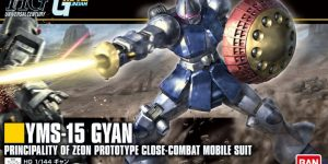 HGUC REVIVE 1/144 YMS-15 GYAN Just Added Box Art and NEW Official Images, Info Release