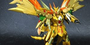P-Bandai Tamashii Exclusive SDX Gold God Superior Kaiser Gundam: No.6 NEW Official Images, Info Release