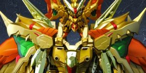 P-Bandai Tamashii Exclusive SDX Gold God Superior Kaiser Gundam: JUST ADDED NEW Official Images, Info Release