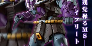 P-Bandai RE/100 MS-08TX/S EFREET SCHNEID: FULL Official Images, Info Release