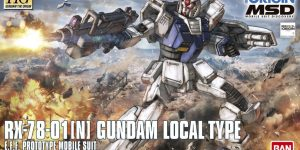 [SAMPLE REVIEW] HG GTO MSD 1/144 RX-78-01[N] GUNDAM LOCAL TYPE: Many Images, Box Art, Info Release