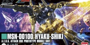 HGUC REVIVE 1/144 MSN-00100 HYAKU-SHIKI: Box Art, Many NEW Official Images, Info Release