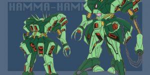 NEXT RE/100 AMX-103 HAMMA-HAMMA: Preview NEW Big Size Images