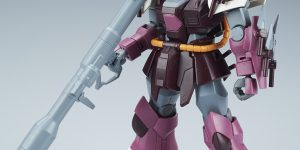 Latest Dengeki's Review: HGUC 1/144 MS-08TX/S Efreet Schneid (Info Release)
