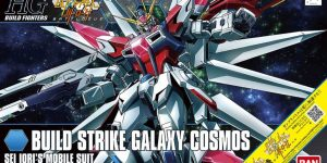HGBF 1/144 BUILD STRIKE GALAXY COSMOS: Box Art, and NEW Official Images. Info Release