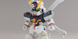 REVIEW SDCS CROSSBONE GUNDAM X1 [SD Gundam Cross Silhouette]