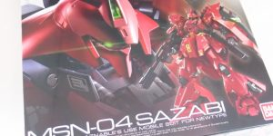 RG 1/144 SAZABI Runners Review, Info Credit