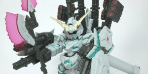 REVIEW FW GUNDAM CONVERGE:CORE RX-0 FULL ARMOR UNICORN GUNDAM. Many images, credit