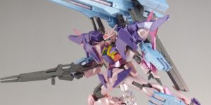 REVIEW HGBD 1/144 GUNDAM 00 SKY HWS [TRANS-AM INFINITY MODE], images, credit
