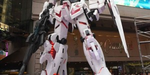 Gundam Docks at Honk Kong II: OPENING CEREMONY PHOTOREPORT! No.15 Big Size Images by Hong Kong Times Square FB page