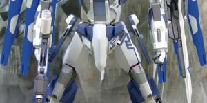 [PAPERCRAFT] Gundam Hi-Nu Glint: Photo Review, Info