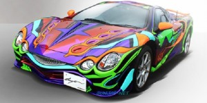 7-Eleven Limited Mitsuoka Motors Evangelion Orochi: 16 Million Yen! UPDATE Photoreport, Full Info