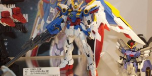 RG 1/144 WING GUNDAM EW on display @ All Japan Model and Hobby Show 2015. Report, Info Release
