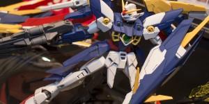 P-Bandai MG 1/100 Gundam Fenice Rinascita Alba on display @ Chara Hobby 2015: Photoreport, Info Release