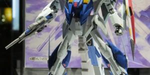 Tamashii Exclusive ROBOT 魂 Ka signature Ξ Xi Gundam [Missile Container] on Display: Photo Report, Close-up photos too, Info Release