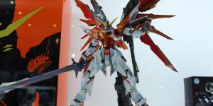 METAL BUILD 1/100 Destiny Gundam (ハイネ 機): Images + Scan from Hobby Magazine, Info Release