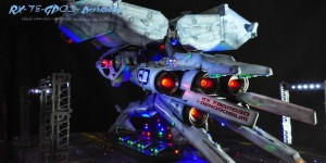 Diorama Masterpiece! HGUC 1/144 RX-78-GP03 Dendrobium Custom Paint Full LEDs: Work by T-MO (Thanit MOdels) Full Photoreview No.52 Hi Res Images