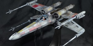Bandai x Star Wars 1/48 X-Wing Starfighter MOVING EDITION: Work by kingyassu. Photoreview