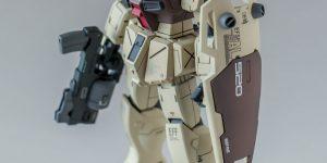 leitz's HGUC 1/144 RGM-79G GM COMMAND: Big Size Images [Full Photo Review]
