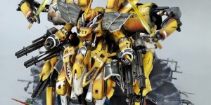 pteamvn's CUSTOM [PMX-003 The O, MG Sinanju, HG Sazabi]: Mega Bird (Angry Bird MK II) Big Size Images