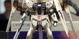 """At the Hobby Online Shop at Premium Bandai, we are currently planning a project """"Double Fin Funnel Expansion Unit for RG 1/144 Nu-Gundam"""" (provisional)."""
