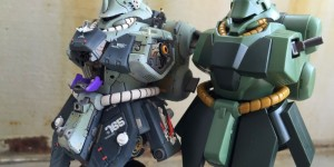 HGUC 1/144 GEARA DOGA Bust Model: Very Detailed Work! Full PHOTO REVIEW + WIP! No.54 Big Size Images, Info