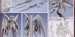 1/144 FREEDOM GUNDAM FRAME FERDER: custom kit appendix in Hobby Japan October 2015 issue, Many Scans, Info!