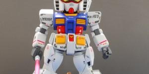 [SD Diorama] RX-78-2 Gundam Ver.Shizuoka 2010: Work by ASP. Photoreview