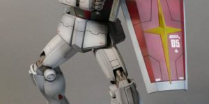 Beautiful Work by hashi: P-Bandai MG 1/100 RMS-179 GM II. REVIEW