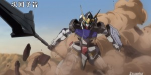 "Gundam Iron-Blooded Oprhans Episode 2: ""BARBATOS"" Preview No.9 Big Size Screenshots!"